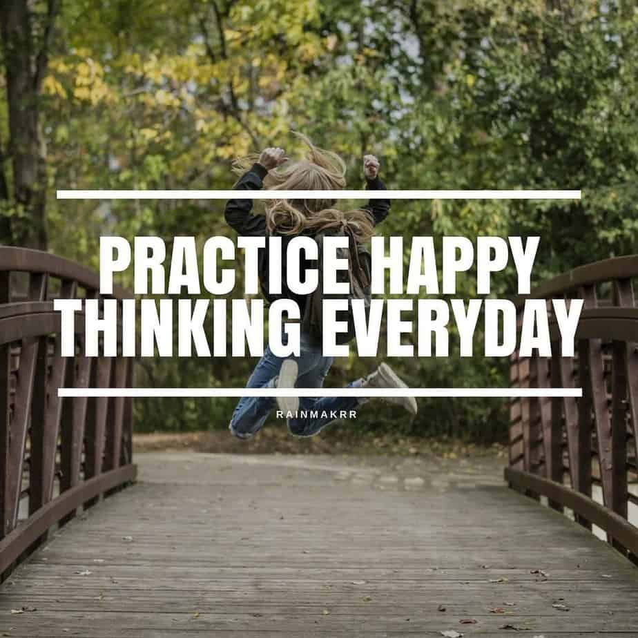 Practice Happy Thinking Every day - B2B Digital Marketing Agency London