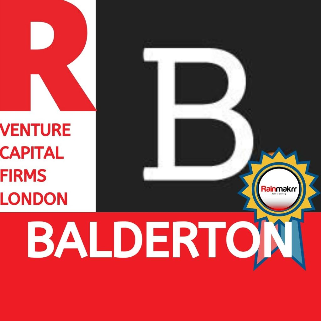 Venture Capital Firms Best London Venture Capital UK Venture Capitalists UK balderton