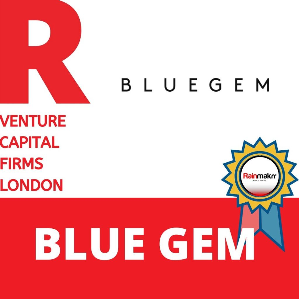 Venture Capital Firms Best London Venture Capital UK Venture Capitalists UK blue gem