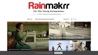 Rainmakrr - it recruitment agencies london