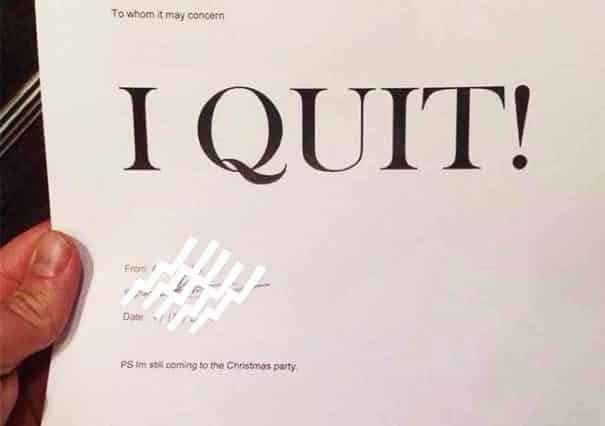 How to write a Resignation Letter UK Funny Letter of Resignation template examples - Tis the season to resign - work notice letter sample