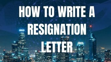 How to write a resignation letter uk letter of resignation uk notice letter uk example - simple resignation letter sample