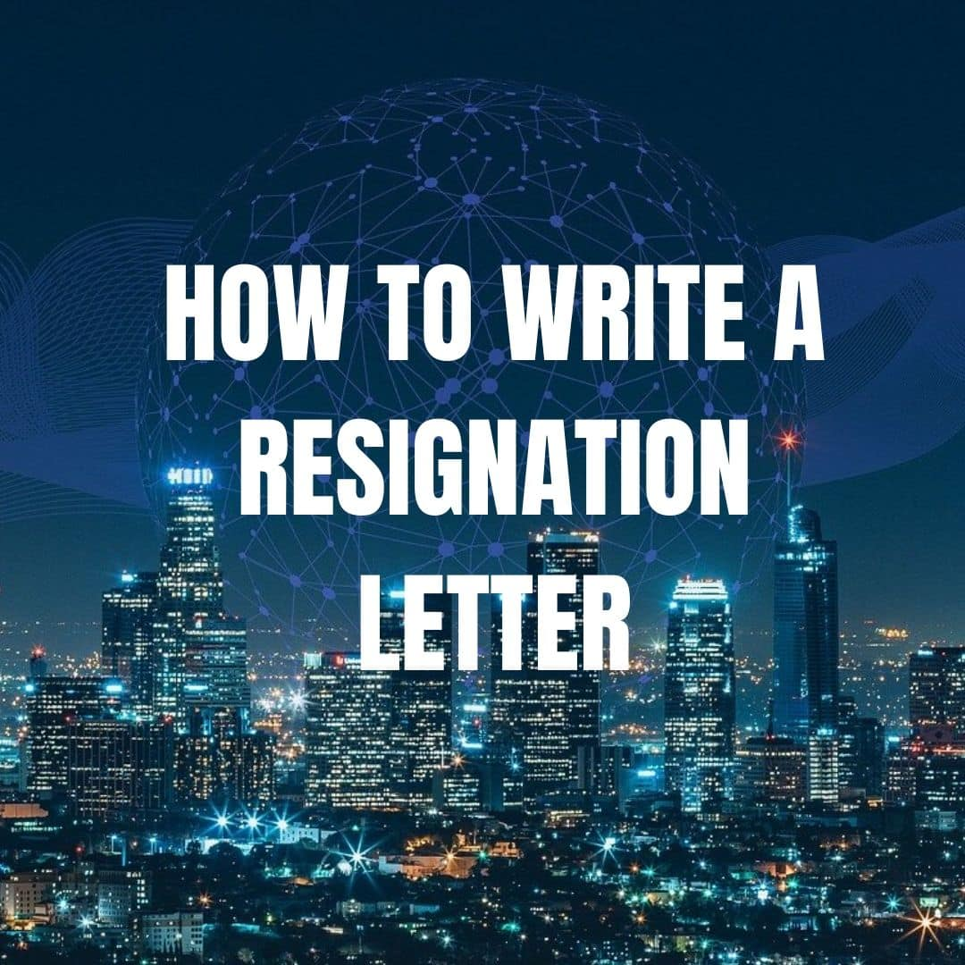 How to write a resignation letter UK example| Move on with your life