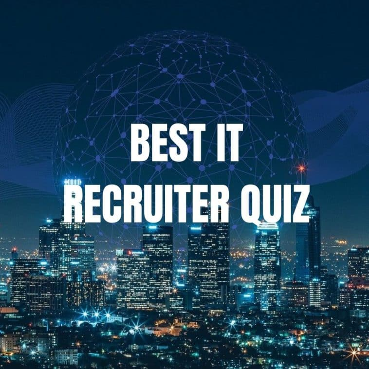It recruitment agencies quiz