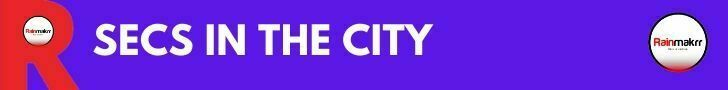 secs in the city banner