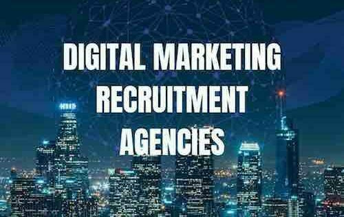 DIGITAL MARKETING RECRUITMENT AGENCIES LONDON DIGITAL MARKETING RECRUITMENT AGENCY LONDON