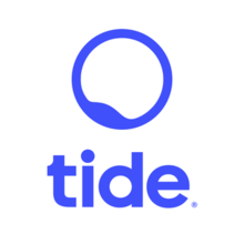 Fintech Startups London - Tide logo