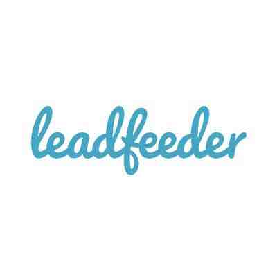 Leadfeeder logo ABM lite account based marketing agency