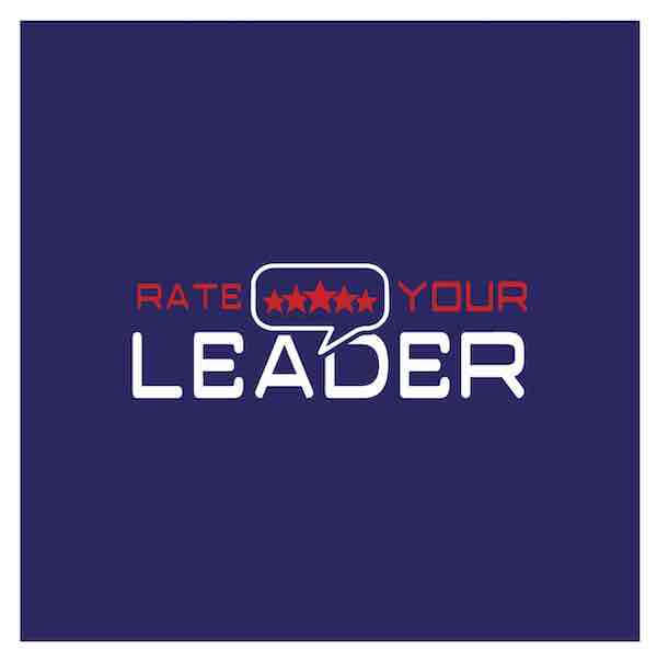 Rate your leader logo - govtech startups london uk