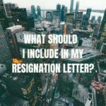 What should I include in my resignation letter?