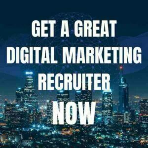 digital marketing recruitment agencies london