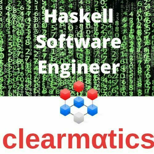 Blockchain Jobs Lond-on Clearmatics - Haskell Software Engineer