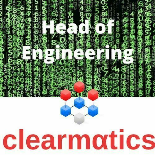 Blockchain Jobs Lond-on Clearmatics - Head of Engineering