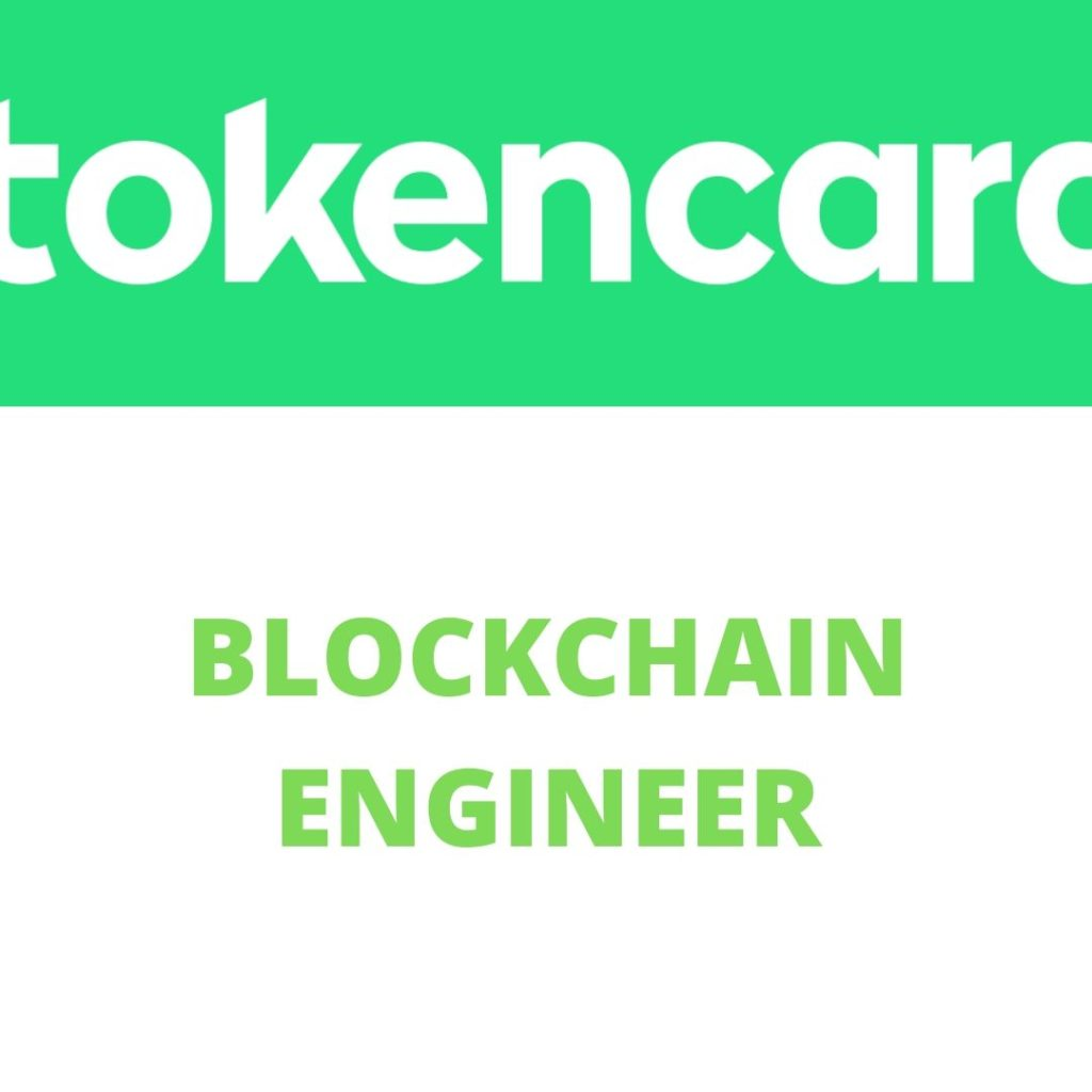 Token Card Blockchain Engineer Jobs London