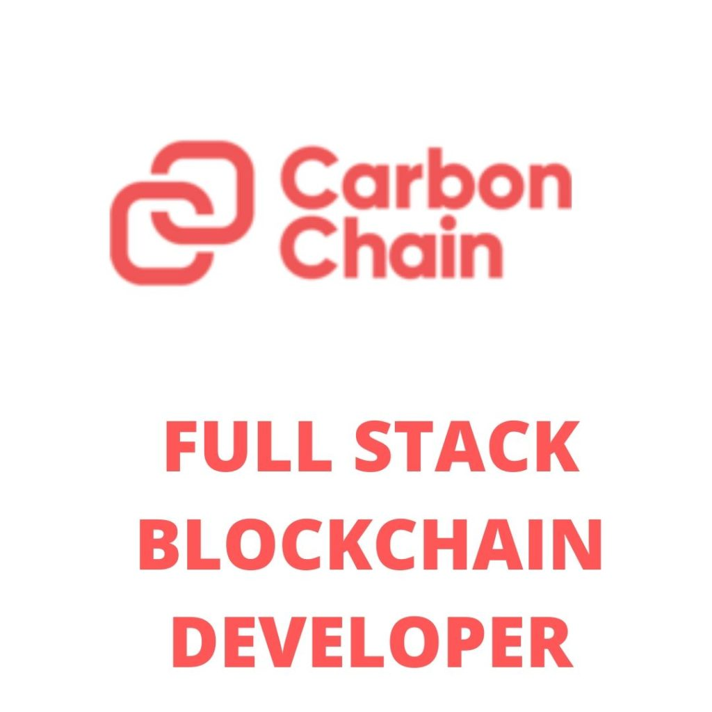 Carbon Chain Blockchain Engineer Jobs London