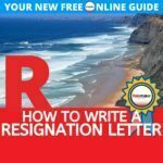 resignation letter template uk letter of resignation uk template
