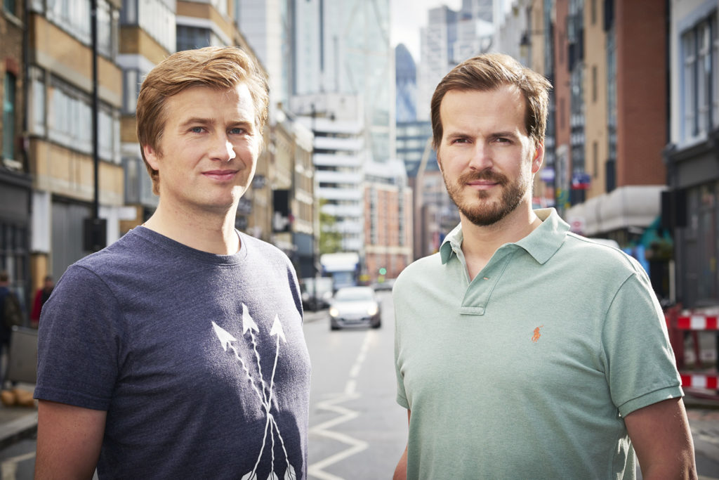 London Fintech Startups Founders London UK Transferwise founders