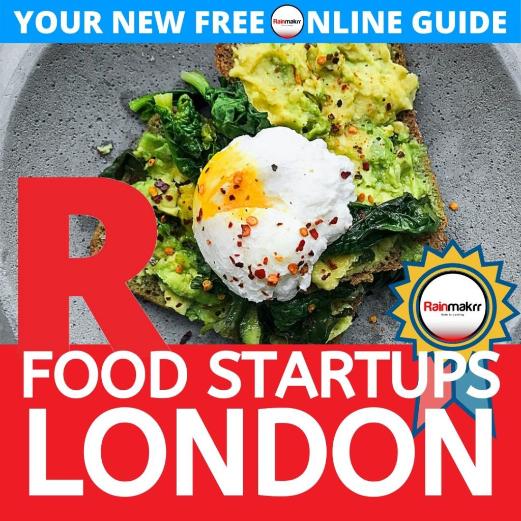 London Food Startups BEST FOOD START UPS London