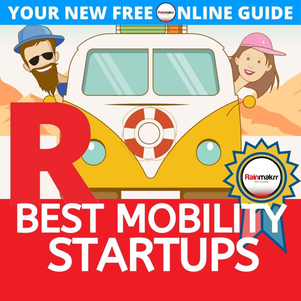 Mobility Startups London BEST MAAS START UPS London