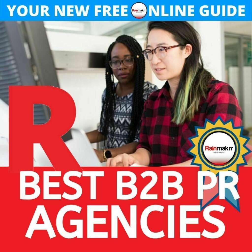 best tech b2b pr agencies london best b2b pr agency best comms agencies