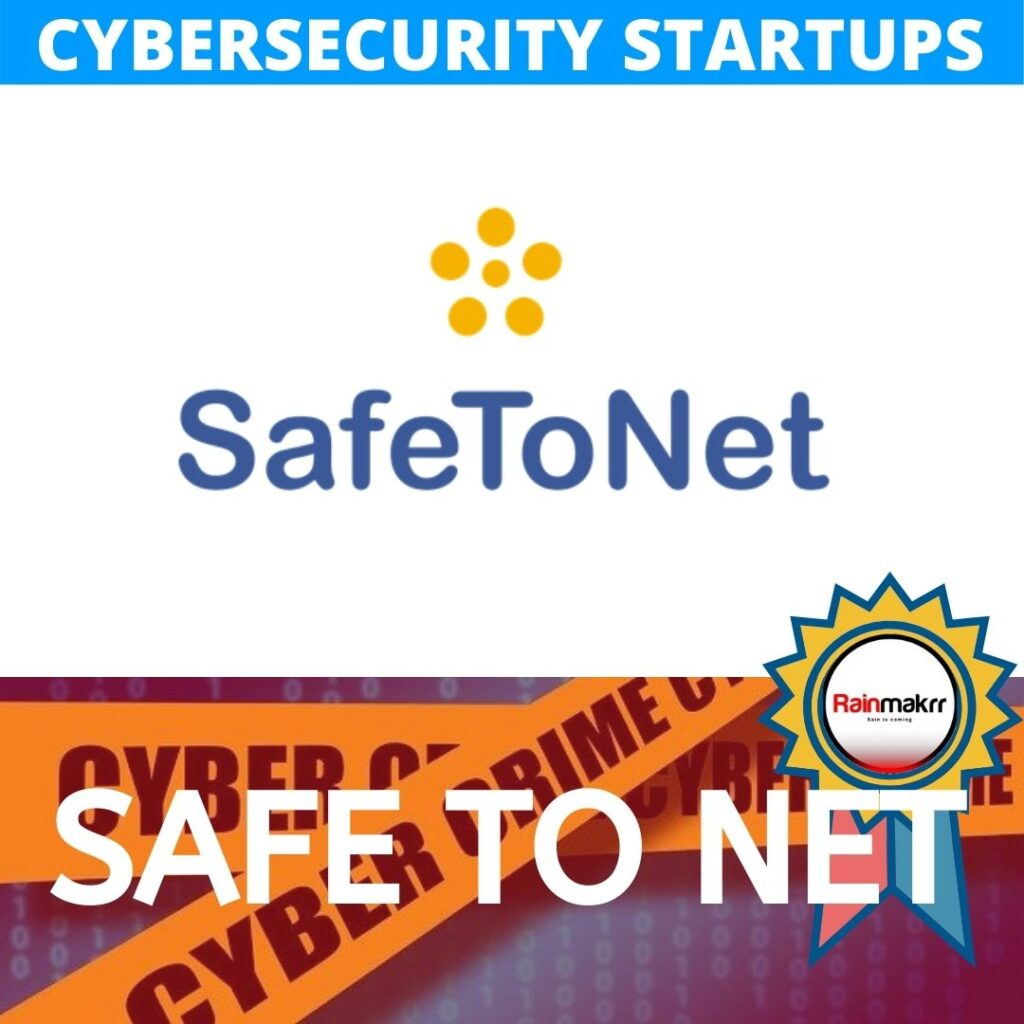 Cyber security startups london safetonet