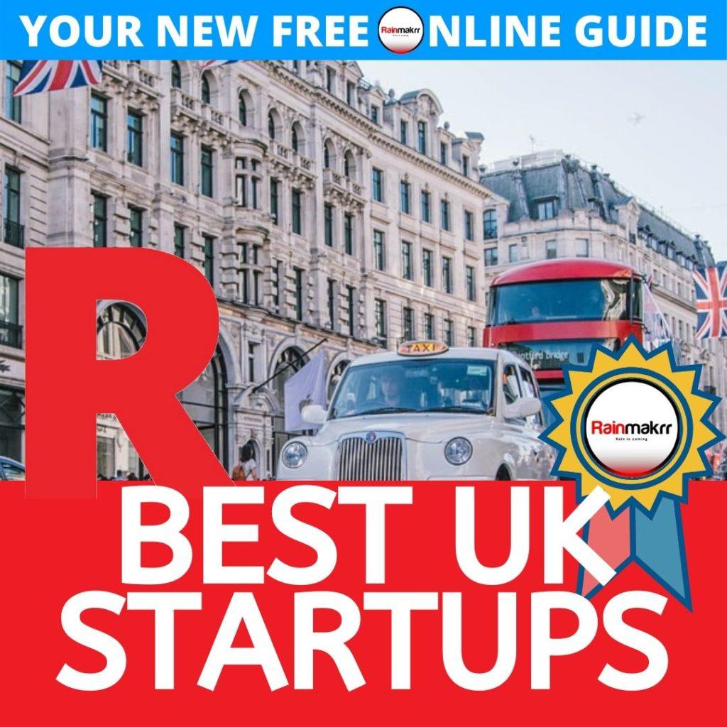 best uk startups uk top