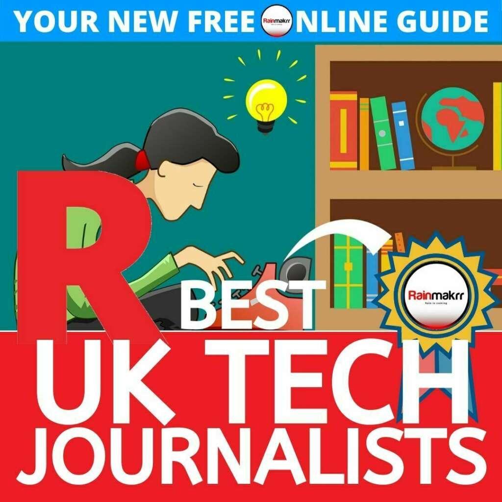 best uk tech journalists uk startup journalists