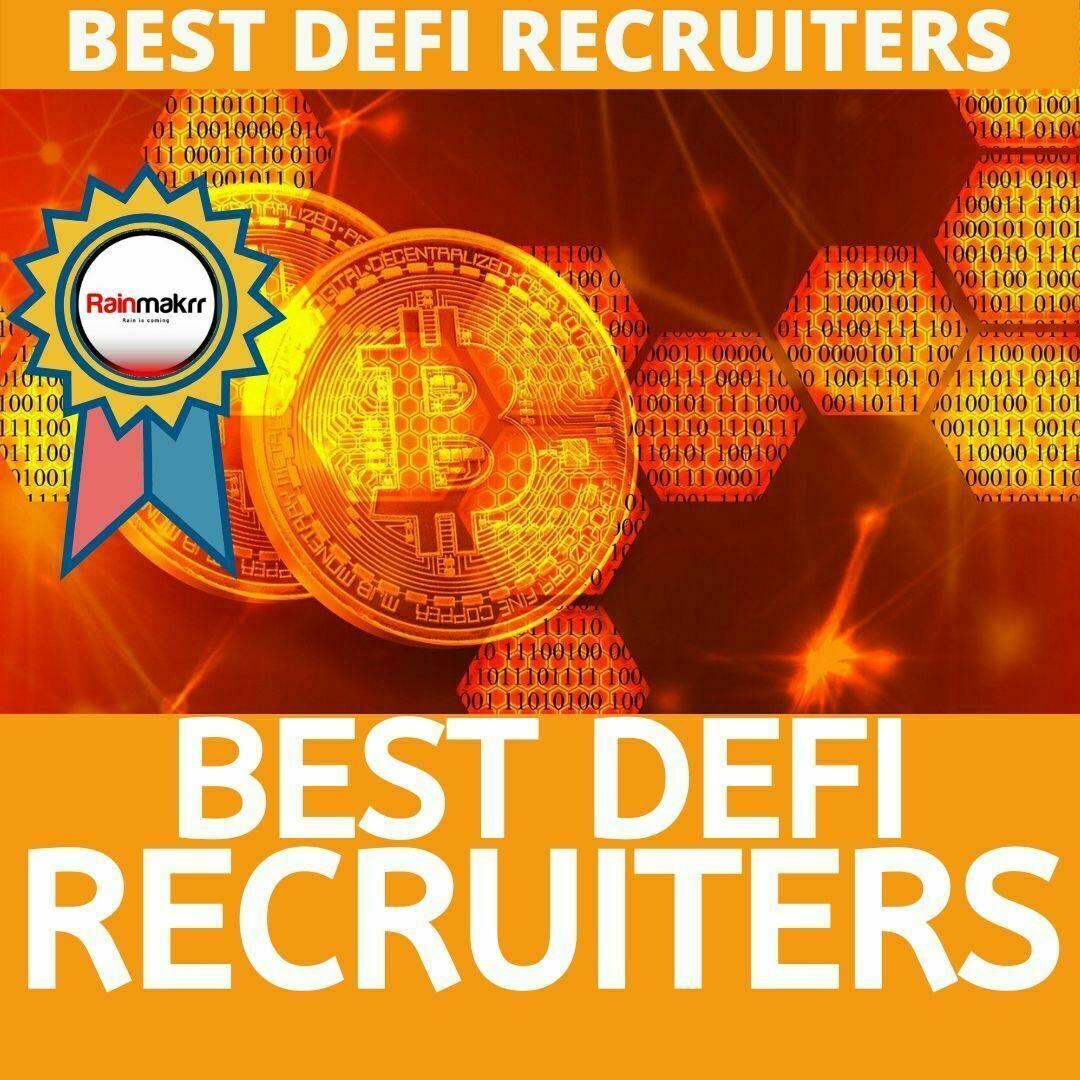 DEFI Recruitment Agencies #1 BEST LONDON DEFI RECRUITERS 2020